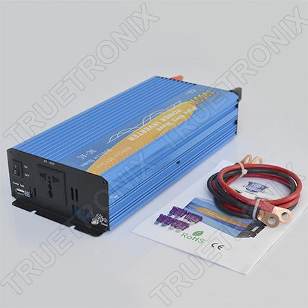เครื่องแปลงไฟแบบไฟเรียบขนาด 1000 วัตต์ Pure Sine Wave Inverter