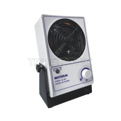 พัดลมกำจัดไฟฟ้าสถิตวางบนโต๊ะ SL-001 Benchtop Ionizing Air Blower