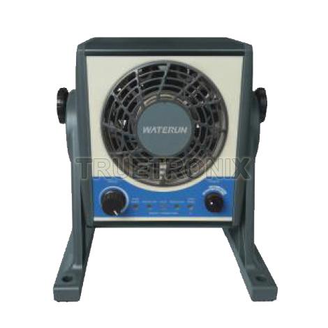 พัดลมทำลายไฟฟ้าสถิต DC-168 Intelligent DC Ionizer