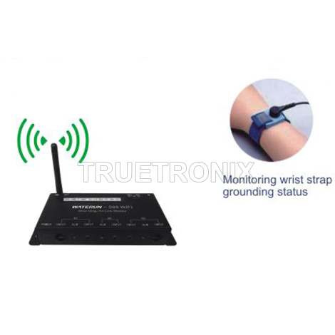 เครื่องเช็คสายรัดข้อมือ Waterun-568 WiFi Wrist Strap On-Line Monitor