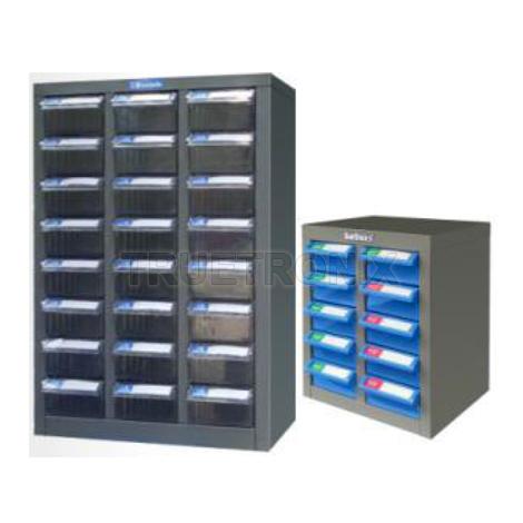 ชั้นกล่องเก็บอุปกรณ์และอะไหล่ Parts Storage Cabinet ESD Stationery