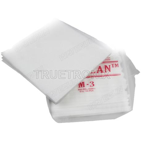 ผ้าเช็ดทำความสะอาดสำหรับใช้ในห้องคลีนรูม M3 Cleaning Wiper
