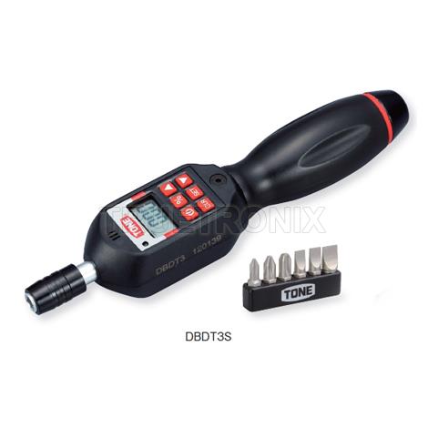 ไขควงวัดทอร์ค 30-300cN.m TONE DBDT3S Digital Torque Screwdriver