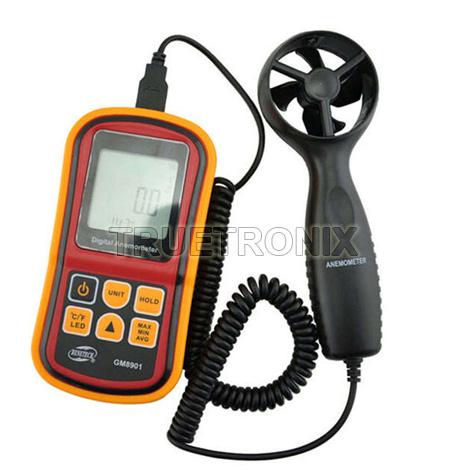 เครื่องวัดแรงลม Benetech GM8901 Digital Air Flow Anemometer