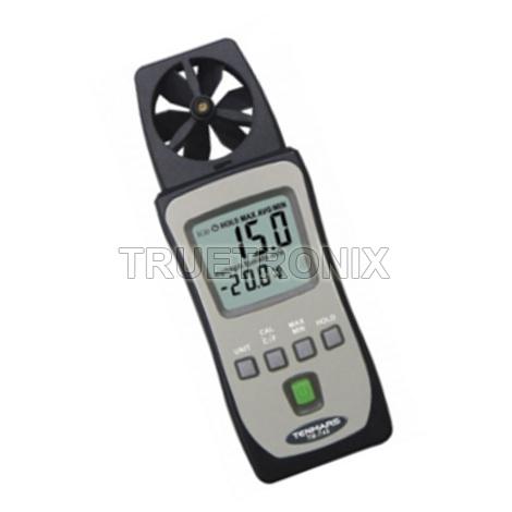 เครื่องวัดความเร็วลมแบบพก Tenmars TM-740 Mini Pocket Air Velocity