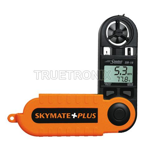 เครื่องวัดความเร็วลม SM-19 Skymate Plus Humidity-Dew Point-Temperature