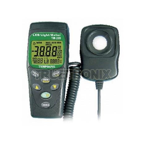 มิเตอร์วัดความเข้มแสงสว่าง Tenmars TM-209 LED Light Meter