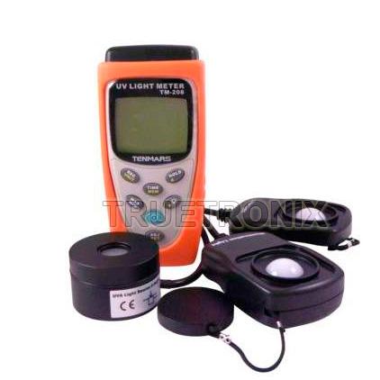 มิเตอร์วัดแสงและเก็บข้อมูล Tenmars TM-208 Datalogger Light Meter