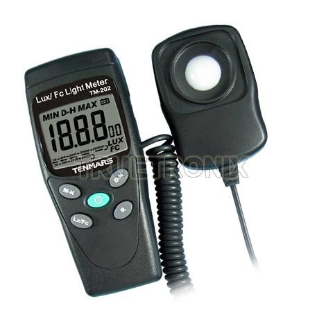 เครื่องวัดระดับแสง Tenmars TM-202 LUX/FC Light Level Meter