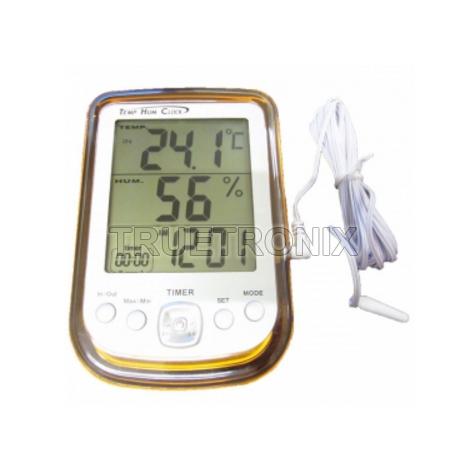 เครื่องวัดอุณหภูมิ-ความชื้น DYS DHT-1 Thermo-Hygrometer In/Out