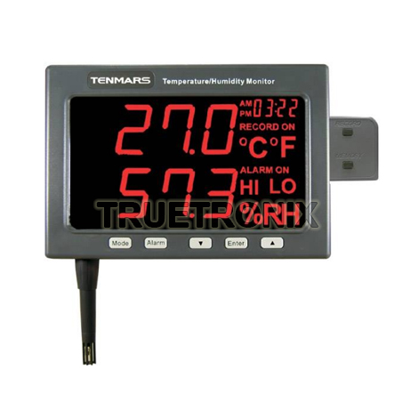 เครื่องบันทึกอุณหภูมิและความชื้น Tenmars TM-185D Thermo-Hygro meter