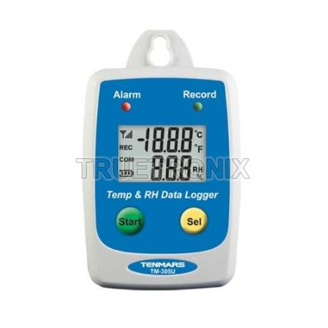 มิเตอร์บันทึกข้อมูลอุณภูมิและความชื้น Tenmars TM-305U Thermo Hygro Meter