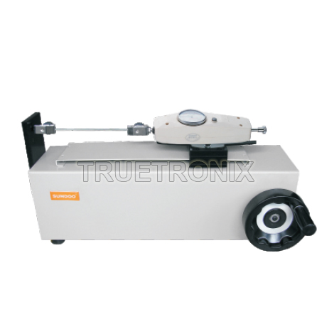 SLH SN Horizontal Wheel Manual Test Stand