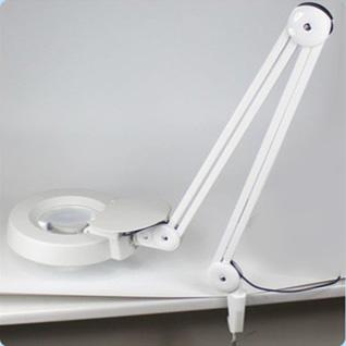 โคมไฟเลนส์ขยายส่องชิ้นงาน Clamp Magnifying Lamp