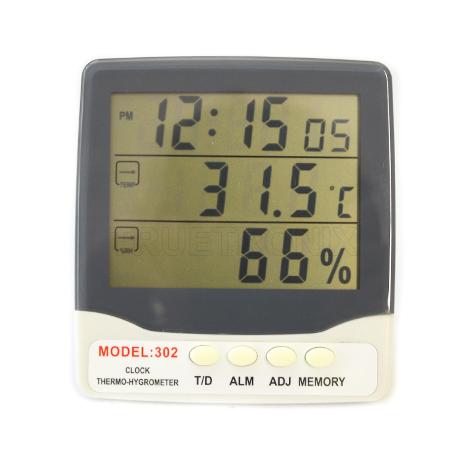 เครื่องวัดอุณหภูมิและความชื้น Thermo-Hygrometer model 302