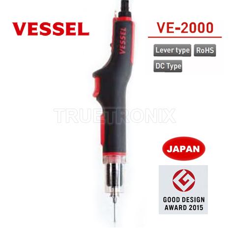 ไขควงทอร์คไฟฟ้าปรับแรงบิด Vessel VE-2000 Electric Torque Driver