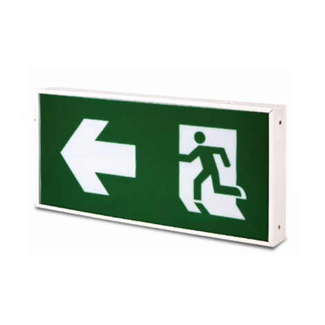 Standard LED Exit Sign Linht Box Type