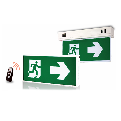 Automatic Testing LED Exit Sign Light