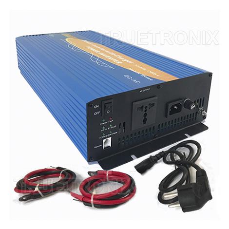 แปลงไฟ 12V เป็น 220V แบบ Pure Sine ขนาด 2000W+Charger