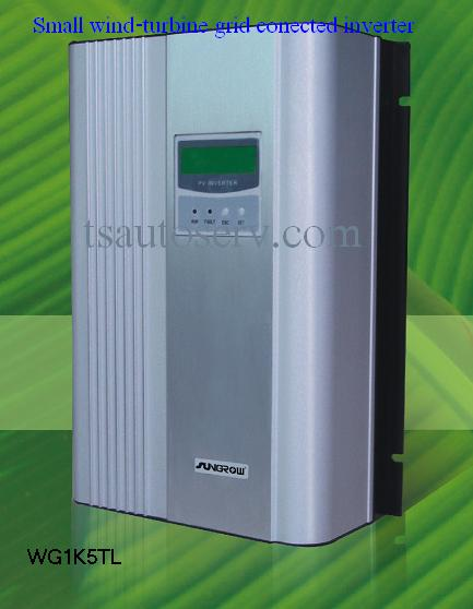 ระบบกังหันลมผลิตไฟฟ้าเชื้อมต่อการไฟฟา 1000W (ON-GRID SYSTEM)