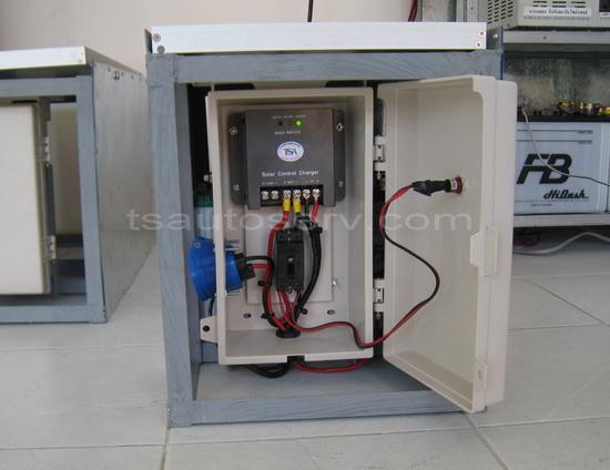 ปั้มน้ำพลังแสงอาทิตย์ Solar Pump TSTP12 3