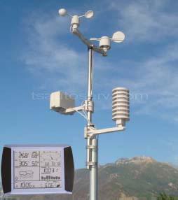 เครื่องวัดสภาพอากาศรุ่นมืออาชีพ (EN1081A)