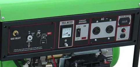 เครื่องกำเนิดไฟฟ้าแบบใช้แก๊ส (LPG/NGV) 5000W  แบบ Permanent Magnet 3
