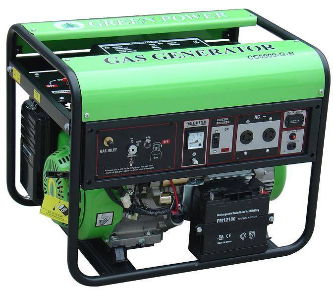 เครื่องกำเนิดไฟฟ้าแบบใช้แก๊ส (LPG/NGV) 5000W  แบบ Permanent Magnet 1