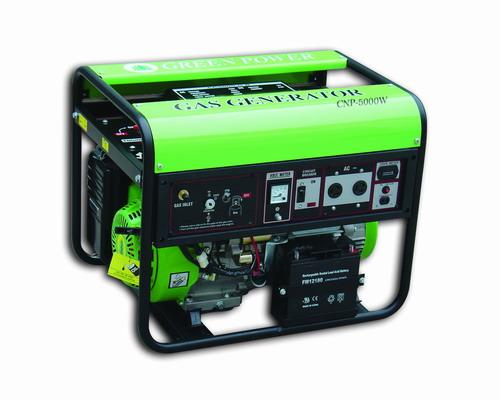 เครื่องกำเนิดไฟฟ้าแบบใช้แก๊ส (LPG/NGV) 5000W  แบบ Permanent Magnet 2