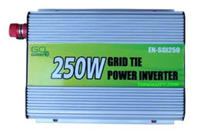 Grid tie inverter ขนาดจิ๋ว เหมาะสำหรับโซล่าเซลล์ขนาดเล็ก 250W