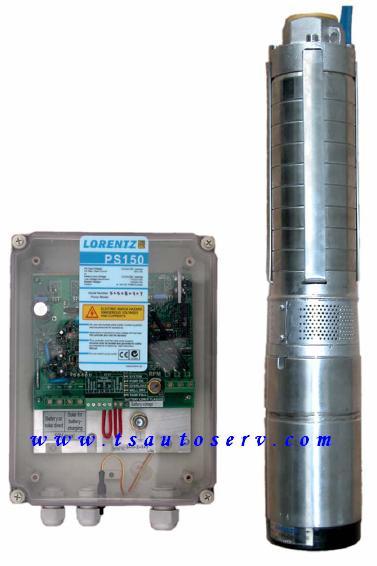 ปั๊มสูบน้ำพลังแสงอาทิตย์ Submersible Pump (PS150_Centric_CSJ5-8)
