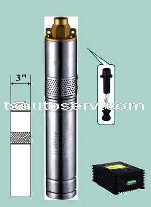 โซล่าปั๊ม สูบน้ำบาดาล ลึก 45 เมตร 6,400 ลิตร/วัน ไม่ต้องใช้แบตฯ