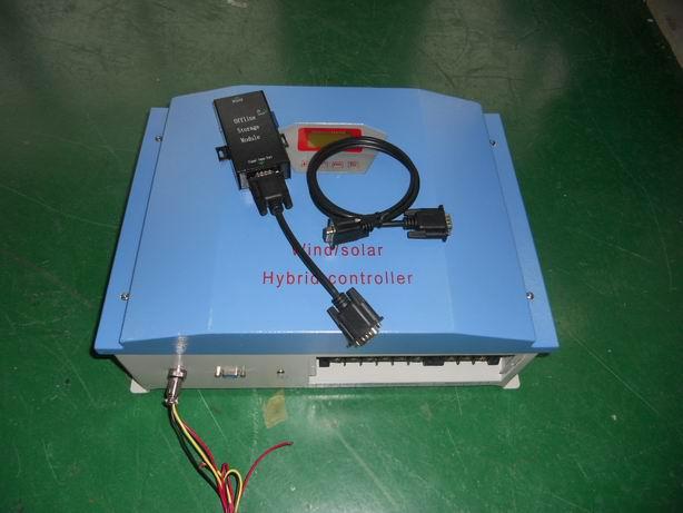 เครื่องควบคุมการชาร์จกังหันลม/โซล่าเซลล์อัตโนมัติ hybrid