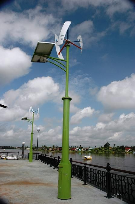 Vertical Axis Wind Turbines 300W (VAWT)