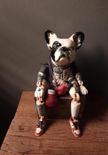 ตุ๊กตาหมาตั้งโชว์