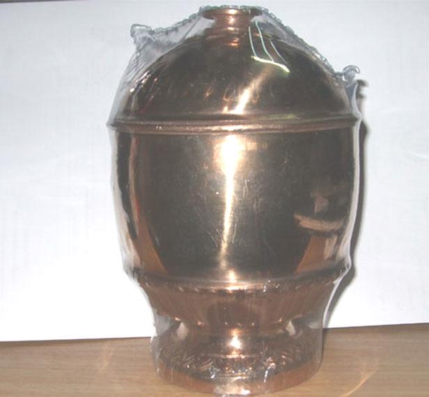 บาตรน้ำมนต์ เนื้อทองแดง รุ่น ๒๐๐ ปี สมเด็จพระมหาสมณเจ้า กรมพระยาปวเรศวริยาลงกรณ์ วัดบวรนิเวศวิหาร