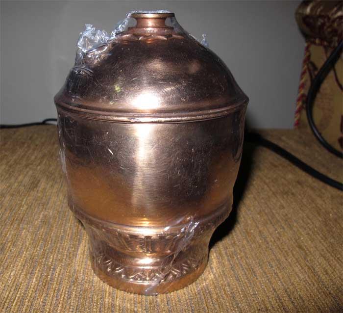 บาตรน้ำมนต์ เนื้อทองแดง รุ่น ๒๐๐ ปี สมเด็จพระมหาสมณเจ้า กรมพระยาปวเรศวริยาลงกรณ์ (มีผู้เช่าบูชาแล้ว)