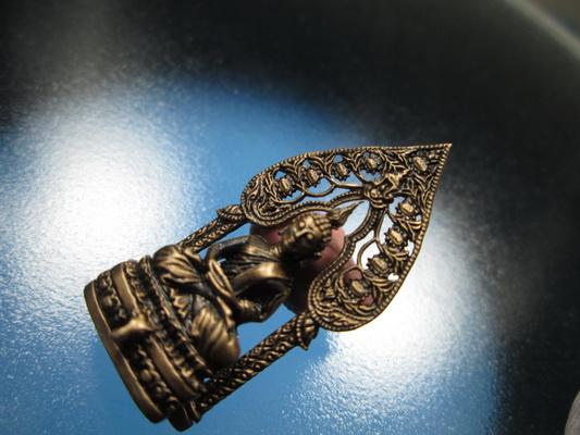 กริ่งนิรันตราย รุ่น ๒ กษัตริย์ เนื้อนวะโลหะ ปี ๒๕๕๒ พร้อมกล่องหรู ๆ เดิม ๆ No.๓๒๔๑  (เช่าบูชาแล้ว)