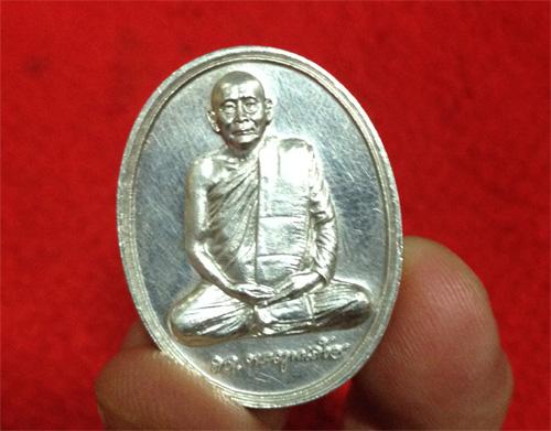 เหรียญสมเด็จพระสังฆราช รุ่น 600 ปี วัดเจดีย์หลวง เชียงใหม่ เนื้อเงินพ งามมากก (เช่าบูชาแล้ว)