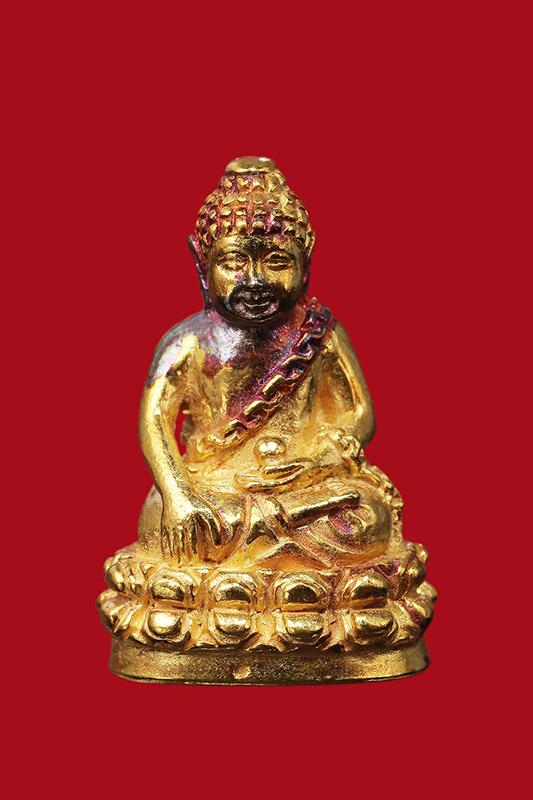 พระกริ่งอุดมสมบูรณ์ (กริ่งปุ้มปุ้ย) ปี ๒๕๓๕ เนื้อทองคำ กริ่งรุ่นแรกของสมเด็ (เช่าบูชาไปแล้วครับ)