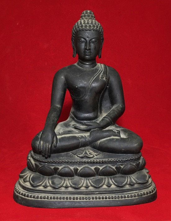 หายากสุด .....   พระบูชา จปร 100 ปี  เนื้อโลหะ หล่อดินไทย วัดราชบพิธ ปี 2513  ข (เช่าบูชาไปแล้ว)