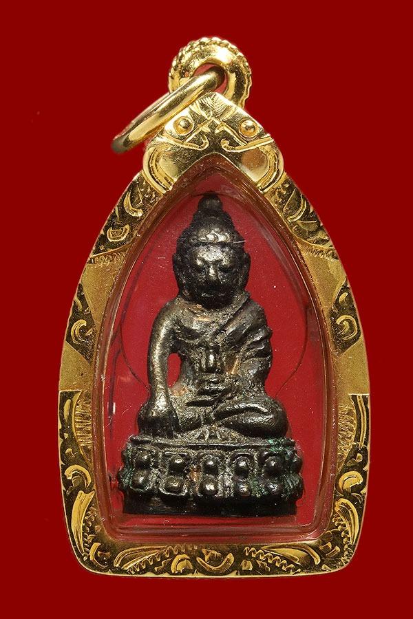 พระชัยวัฒน์ ปวเรศ ปี 2530  วัดบวรนิเวศวิหาร เนื้อนวะ พร้อมเลี่ยมทองคำ (เช่าบูชาไปแล้ว)