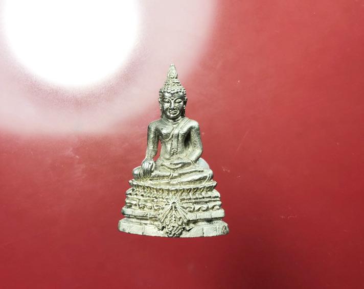 กริ่งพระพุทธชินสีห์ ภปร. ทันโต เสฏโฐ เนื้อเงิน บรรจุพระทันตะในหลวง ร.9 (เช่าบูชาไปแล้ว)