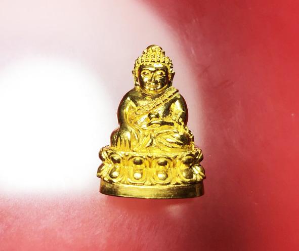 พระกริ่งพุทธอุดมสมบูรณ์ (ปุ้มปุ้ย) ชุดกรรมการ เนื้อทองคำ นวะ ทองแดง ปี 254 (เช่าบูชาไปแล้ว)