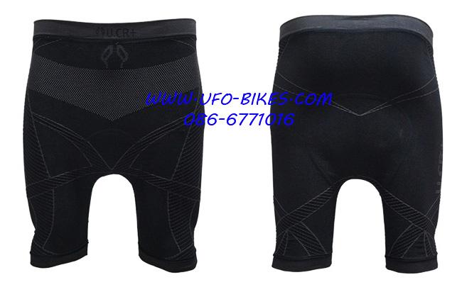 กางเกงขี่จักรยาน U.CR+ รุ่น Bamboo ขาสั้น [5 ส่วน]