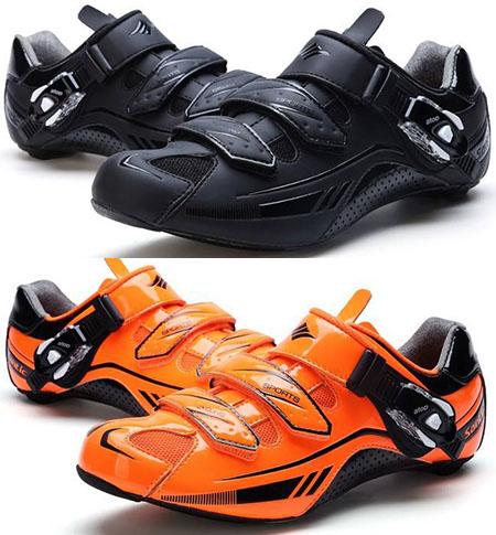 รองเท้าเสือหมอบ SANTIC รุ่น S12018 สีดำ.ส้ม.เขียว