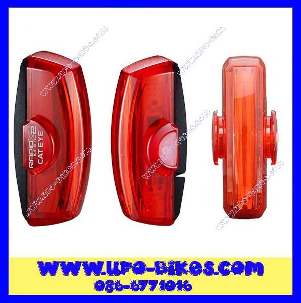 ไฟหลัง CATEYE  RAPID X2 KINETIC TL-LD710K แสงสีแดง