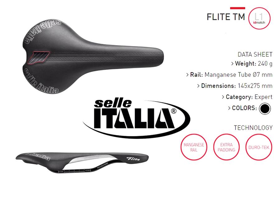 เบาะ Selle Italia รุ่น FLITE TM