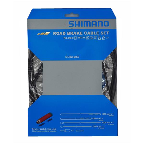 ชุดสายเบรค Shimano BC-9000 polymer