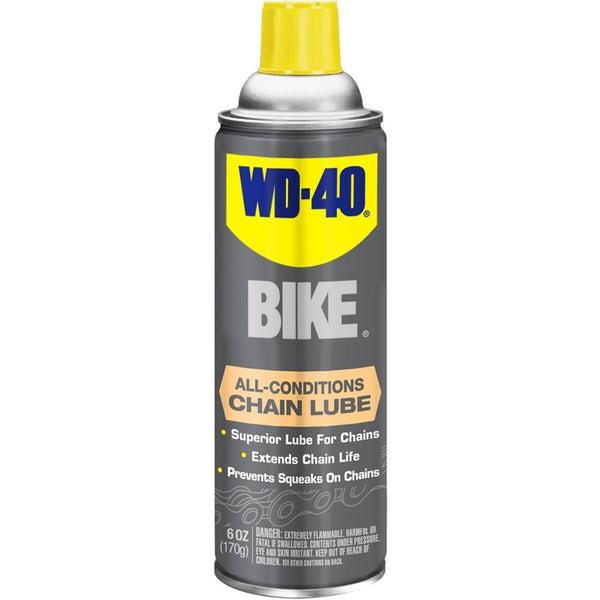 สเปรย์หล่อลื่นโซ่ WD-40 ยับยั้งการกัดกร่อนและลดการเสียดสีต่อทุกสภาวะ